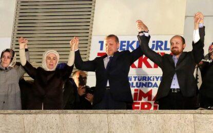 Партията на Ердоган спечели местните избори в Турция