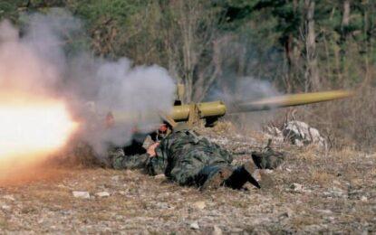 Военен хеликоптер свален в Източна Украйна