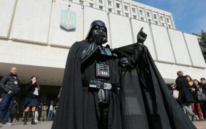 Дарт Вейдър съди украинската ЦИК, отказала да го регистрира