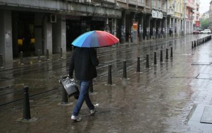 Жълт код за обилни валежи в Южна България
