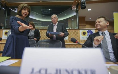 Юнкер натиска властта да номинира Кристалина Георгиева за еврокомисар
