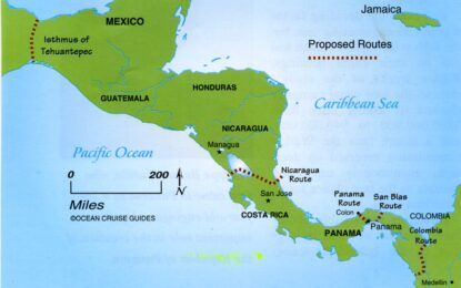 Нов воден път ще свързва Атлантика и Тихия океан