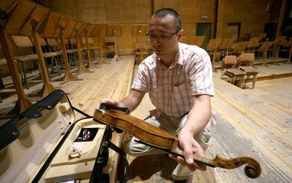 Концерт за виолино, оркестър и прашен калъф