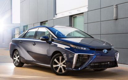 Toyota споделя патентите за горивните си клетки
