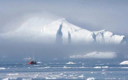 Дания поиска част от Северния полюс