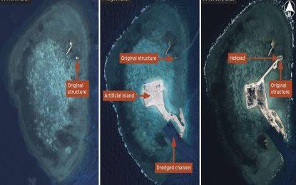 Китай расте на спорна акватория с изкуствени острови