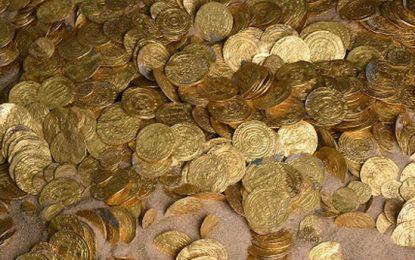 Водолази откриха най-голямото златно съкровище в Израел