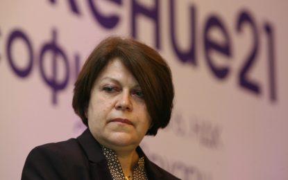 Татяна Дончева се кандидатира с НДСВ зад гърба си