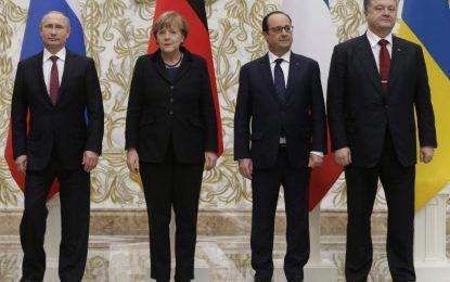 ЕС предлага мир на Путин и Порошенко от 14.02.