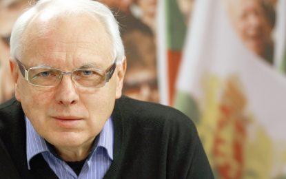Велизар Енчев се включва в надпреварата за президент