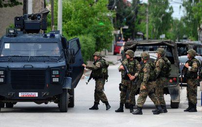 Четирима полицаи са ранени след престрелка в Македония