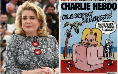 """""""Шарли Ебдо"""" се подигра с Катрин Деньов"""