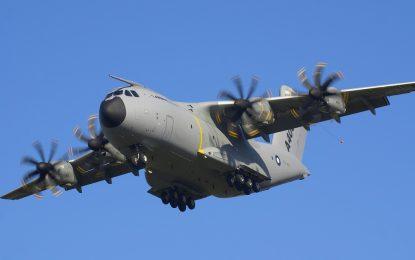 Военен самолет се разби в Испания