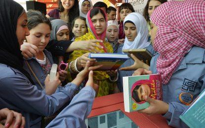 Малала отпразнува пълнолетие със сирийски бежанци
