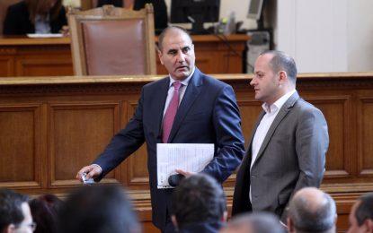 Цветанов и Кънев уговориха дуел в съда