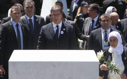 Сребреница прогони премиера на Сърбия