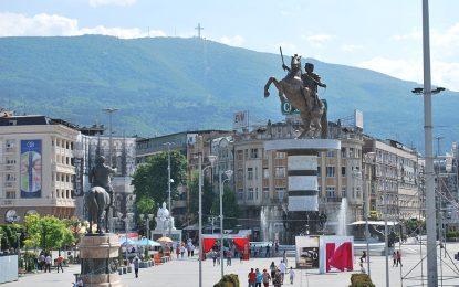Счупената паметна плоча на Каймакчалан е незаконна, обяви македонското МВнР
