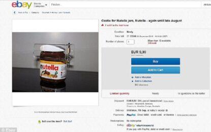 Катинар пази бурканчето Nutella само за вас