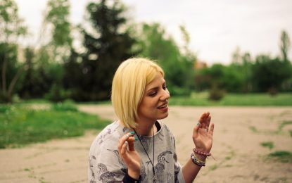 Мария Маринова: Обичам да пея и да нося различни чорапи