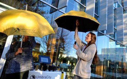 Икономиката на споделянето достигна и чадърите