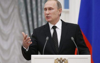 И Путин се зае с менте алкохола