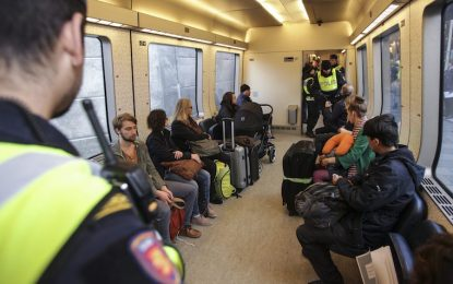 За първи път от 20 години Швеция върна граничарите