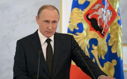 """Путин съобщи за """"крехко"""" примирие в Сирия"""
