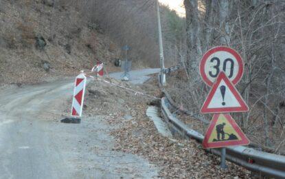 Пътят към гроба на Св. Иван Рилски пропадна