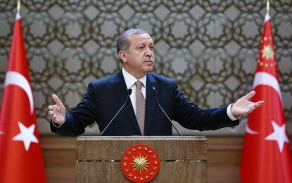Държавните граници са все така тесни за сърцето на Ердоган