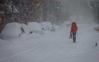 Снежната стихия в САЩ взе 17 жертви