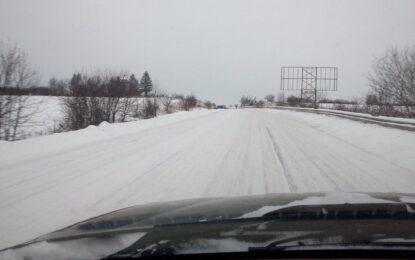 Шофьори бесни на властта заради снежните пътища (видео 18+)
