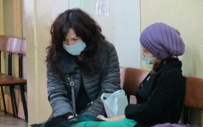 Още пет области са на прага на грипна епидемия