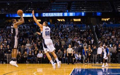 """Избрано от НБА: Нелеп пропуск на """"Меджик"""" подари успеха на """"Спърс"""""""
