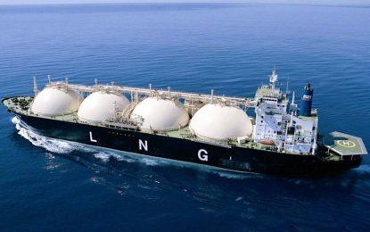 Португалия внесе втечнен природен газ от САЩ