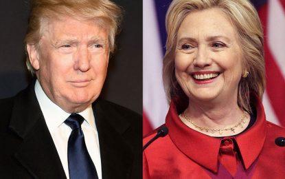 Тръмп изравни рейтинг с Клинтън