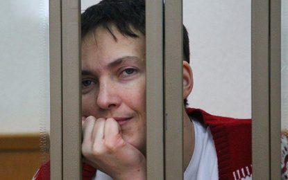 Савченко получи 22 години в трудов лагер