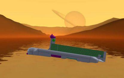 Космическата подводница, която ще търси извънземни