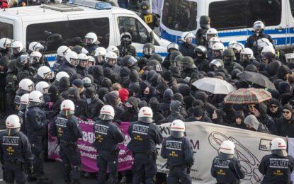 400 арестувани на протест срещу крайната десница в Германия