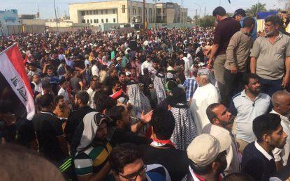 Гневни иракчани създадоха лагер пред парламента в Багдад