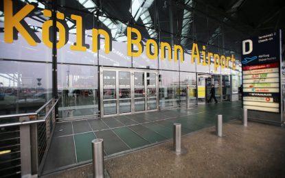 Всички полети на летището в Кьолн/Бон са отменени