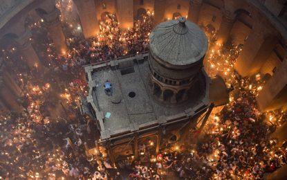 Гърци възстановяват Божи гроб в проект за $4 млн.