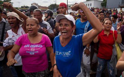 Гладните протести във Венецуела доведоха до над 400 ареста