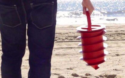 """""""Плажен трезор"""" варди вещите ни на плажа"""
