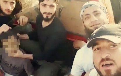 Подкрепяни от САЩ бунтовници обезглавиха дете в Сирия