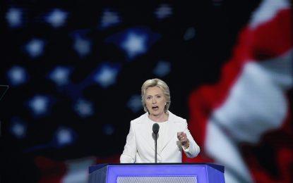 Хилари Клинтън прие номинацията на демократите за президент на САЩ