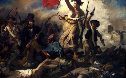 Голата гръд представя Франция по-добре от забрадката