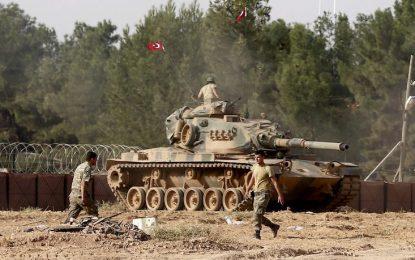 Турски танкове навлязоха в Северна Сирия