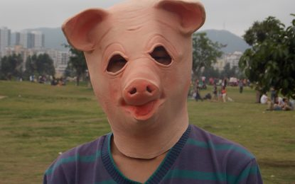 Загорели шведи със свински маски погнаха ловци на покемони