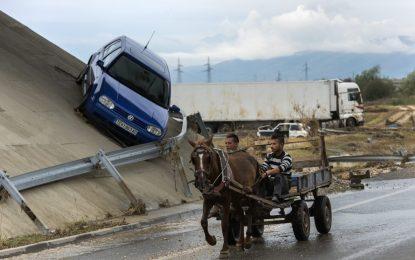 В Скопие не са виждали такъв дъжд от 70 години