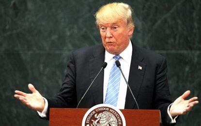 На границата с Мексико Тръмп се втвърди срещу мигрантите